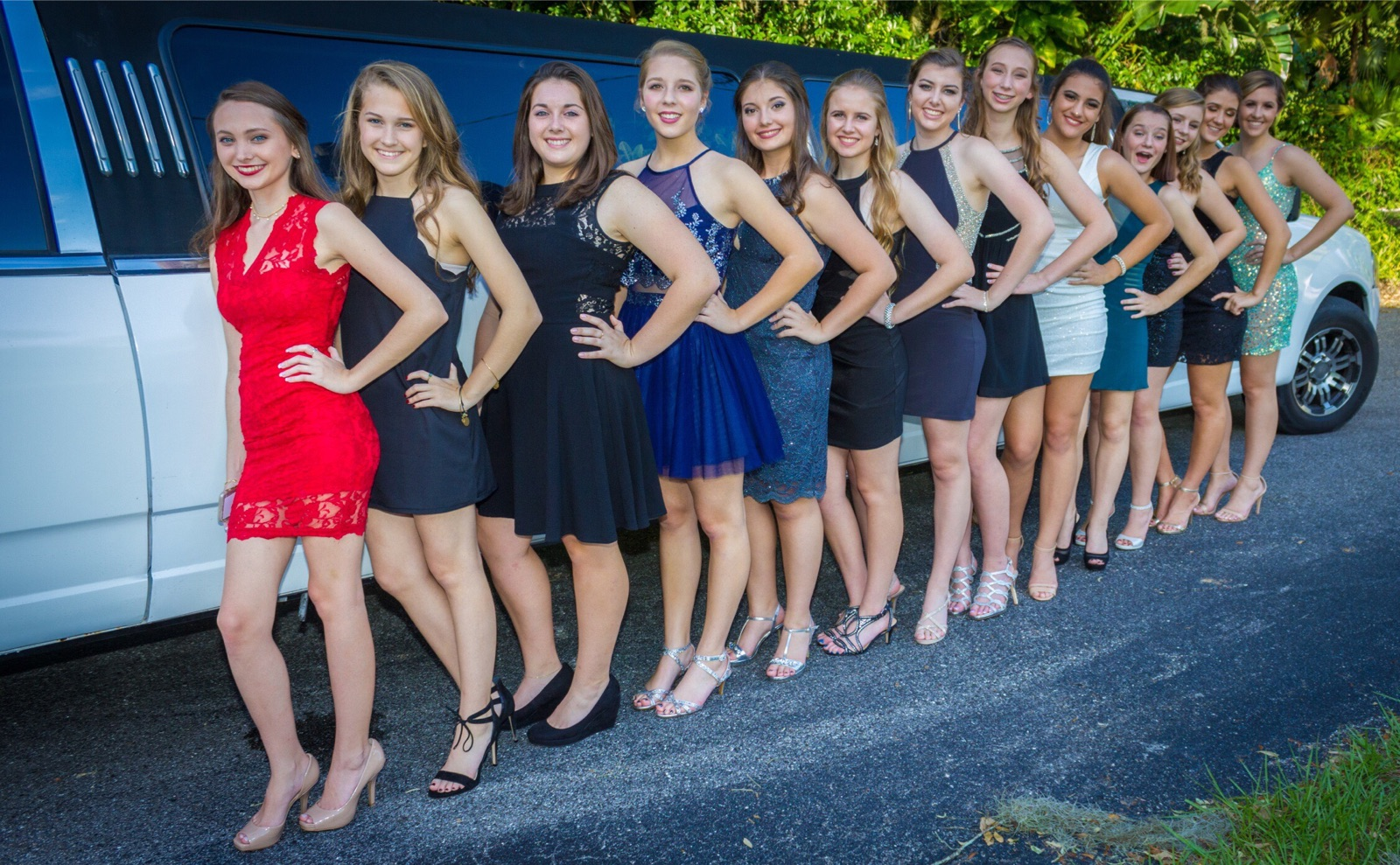 Homecoming Group with Navigator Limo