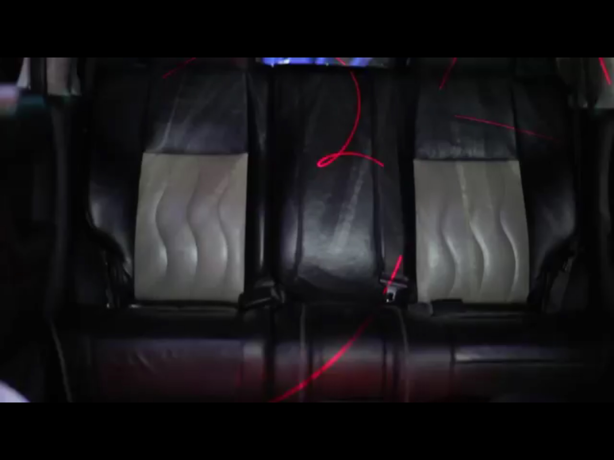 H3 Limo back seat